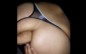 Obese booty Latino fume butt obtaining awkward with finger fucking and near going knuckle deep