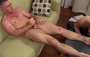 Muscular chaps Scott and Cole enjoy nice feet fetish period
