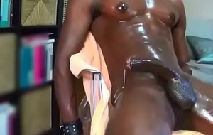 White Toff Makes BBC Cum (multiple times)