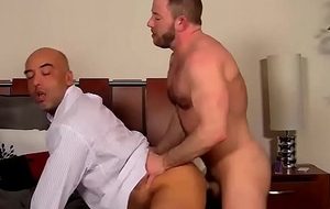 Shay Michaels copulates his raucous boss Brian in his asshole