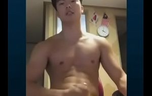 Korean Guy Wank