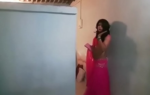 Crossdresser in all directions lehenga