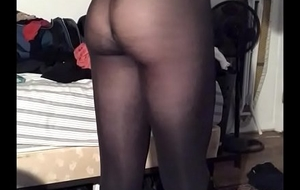 sissyformen exposed teasing you apropos his black hose